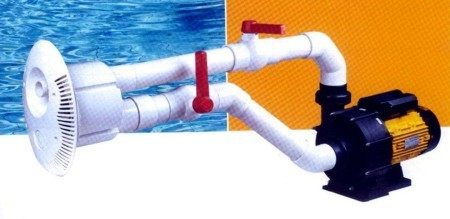 Counterflow swimming system