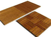 Strand Woven Bamboo wood deck