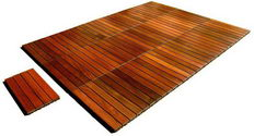 Jatoba (Brazilian Cherry) wood deck