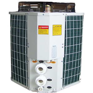 Swimming pool water heaters, Heat pumps VADM300