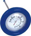 Large floating round thermometer