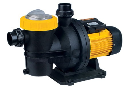 Quiet running single-stage centrifugal pump 1100 W 1.5 HP