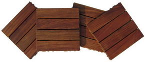 Jatoba wood deck