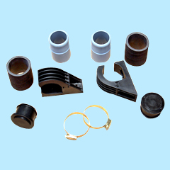 Swimming pool solar water heater mounting kits and spare parts