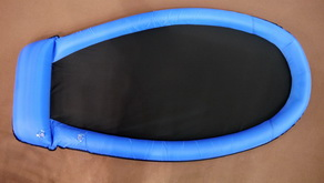 Mesh Lounge inflatable float chair Blue